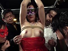 【エロ動画】恥辱の美魔女見世物調教2 新堂有望のエロ画像