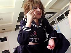 【エロ動画】スケバン痴女 五代目・南原香織のエロ画像