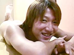 マニ☆エロ マニア投稿015 ノンケ大学生19歳☆初バック