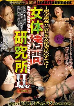 女体拷問研究所 セカンド Vol.13(柊恋 出演の凌辱系動