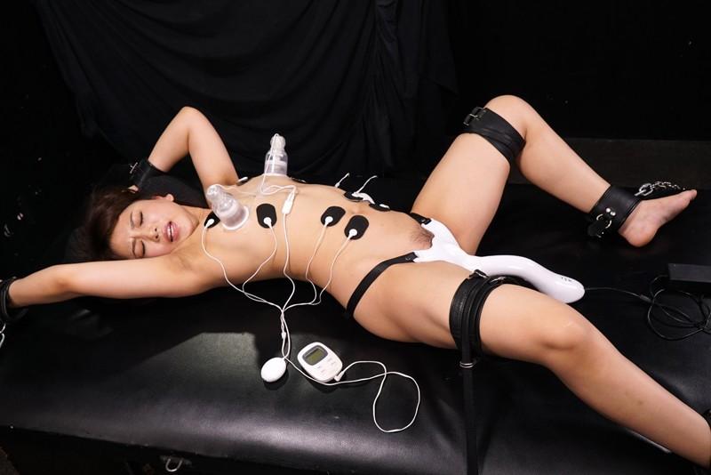 乳首と栗と秘壺を攻撃する悪魔の残酷装置