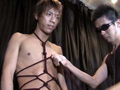 【ゲイSM動画】異常な緊張現場に大興奮!/信吾