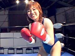 彼女とボクシングで勝負!!1