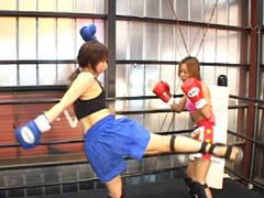 女子キックボクシング2