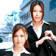 就職活動 THE SPECIAL 紗奈&西山希【バズーカ】