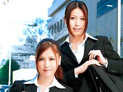 【エロ動画】就職活動 THE SPECIAL 紗奈&西山希のエロ画像
