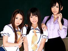 『義妹×彼女×教え子と僕のラブラブハーレム性活』友田彩也香と『School Girl 長瀬愛』と『犯された美人警備員 吉沢明歩』他