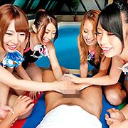 どエロすぎる巨乳水泳インストラクター【バズーカ】
