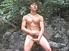 【LGBT】夢幻~屋外巨根少年 SUNAO18才~