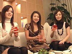 【エロ動画】ガチンコ人妻合コン ゴルフ教室3人組のエロ画像