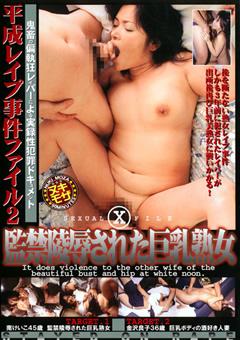 平成レイプ事件ファイル2 監禁陵辱された巨乳熟女