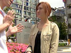 【エロ動画】ガチンコ人妻ナンパ 品川・御殿山のエッチ大好き人妻のエロ画像