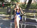 ハンガリーで見つけたパツキン美女と水着でセックス!