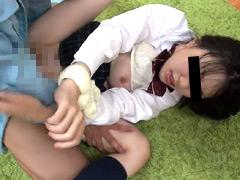 帰宅の瞬間を狙われた女子校生押し込みレイプ