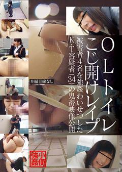 【レイプ動画】準OL便所こじ開けレイプ