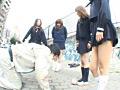 女子校生のくっさい上履き&上履きフードクラッシュ 18