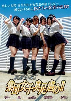 「真夏のJK!集団女子臭足虐め!!」のパッケージ画像