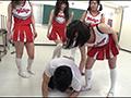女子校生(JK)のチアキック