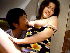 【エロ動画】人妻凌辱 汚された裸体9のエロ画像
