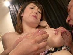 母乳:110cm超爆乳Jカップ奴隷妻母乳搾飲鬼畜調教 桜木美央