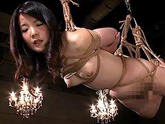 四十路美人妻初SMドキュメンタリー・縛鼻鞭熱涙