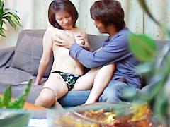 【エロ動画】近親相姦 家庭内盗撮のエロ画像