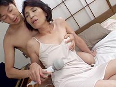 【エロ動画】近親相姦 熟母の園 吉永麗子の人妻・熟女エロ画像