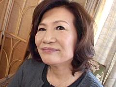 【エロ動画】初撮り六十路妻ドキュメント 小谷美智子のエロ画像