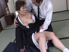 【エロ動画】未亡人 親族相姦 神津千絵子の人妻・熟女エロ画像