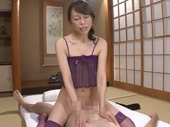 【エロ動画】スケスケセクシーネグリジェおばさん 20人4時間の人妻・熟女エロ画像