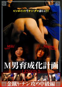 【Miki動画】M男育成化計画-Lesson5-M男