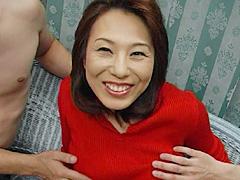 【エロ動画】四十路尻愛美人妻の人妻・熟女エロ画像