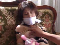 【エロ動画】巨乳隷嬢9 高嶋陽子のSM凌辱エロ画像