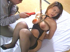 【エロ動画】巨乳隷嬢10 叶結香里のエロ画像