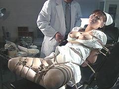 【エロ動画】白衣の生贄5 清水かおりのエロ画像