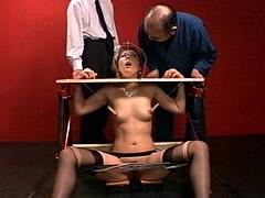 【エロ動画】奈落の女上司連続排泄 鼻晒し台の生贄 葵みちる - 極上SM動画エロス