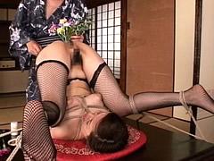 【エロ動画】汚辱のアナル活花 陰花の館 山科茜 三橋リエのエロ画像