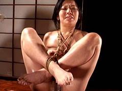 【エロ動画】隣の若妻・濡れそぼる股縄 平原亜希のSM凌辱エロ画像