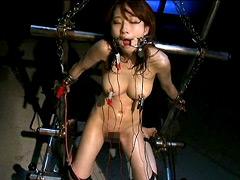 【エロ動画】女スパイ暴虐拷問室4 美咲結衣のSM凌辱エロ画像