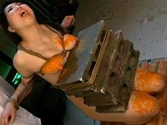 【エロ動画】女スパイ暴虐拷問室6 新谷彩夏のエロ画像