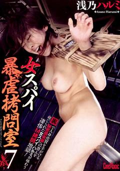 【浅乃はるみ スパイ 動画】女スパイ暴虐拷問室7-浅乃ハルミ-SM