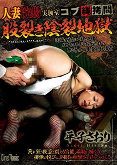 【平子さおり動画】人妻浣腸実験室-コブ縄拷問股裂き陰裂地獄-平子さおり-SM