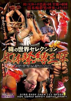 「縄の世界セレクション 女体緊縛三昧」のパッケージ画像