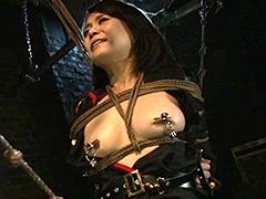 【エロ動画】拷問監獄の女囚 女ゲリラ戦士への慰安捕虜調教 三浦春佳のSM凌辱エロ画像