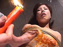 【エロ動画】巨乳灼熱痴獄 蝋燭責めベスト - 極上SM動画エロス