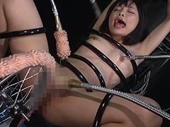 【エロ動画】機械姦暴行のエロ画像