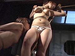 【エロ動画】連縛暴辱の獲物たち 縄宴謝肉祭のエロ画像