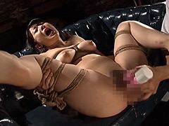 【エロ動画】牝犬にされた女社長 肉奴隷の誕生 川崎紀里恵のエロ画像