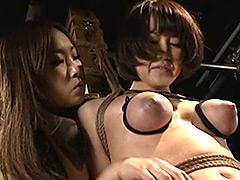【エロ動画】ビクセン総集編8 女に虐め嬲られる女達のエロ画像