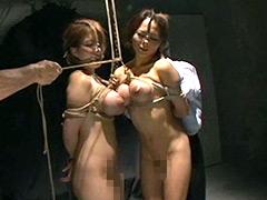 【エロ動画】汚辱まみれの特盛り母娘丼のエロ画像